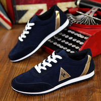 New 2016 Men Casual Shoes Lace-up Breathable Massage Flats Shoes Spring Summer Mens Canvas Flats Men Sapatos Chaussure Homme
