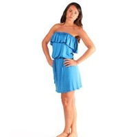 One Ruffle Summer Dress / Beach Dress