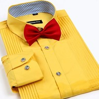 Mens Shirts  Luxury wedding  business  bridegroom Shirt