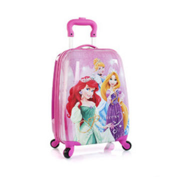 Disney Princess Heys Rolling Luggage Case [Cinderella, Rapunzel and Ariel]