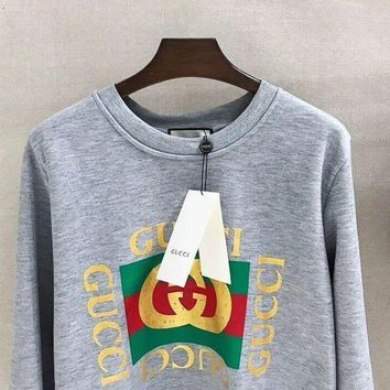 PEAPOK3 GUCCI Fashion Casual Long Sleeve Sweater Pullover Sweatshirt