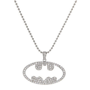 DC Comics Batman Bling Cut-Out Necklace | Hot Topic