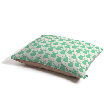 Allyson Johnson Minty Deer Pet Bed