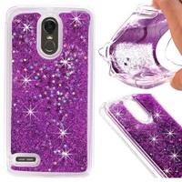 Dynamic Liquid Glitter Sand Soft TPU Case For LG Stylus 3 / For LG Stylo 3 Cover Quicksand Mobile Phone Shell