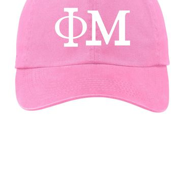 Phi Mu // Choose Your Colors // Sorority Cap