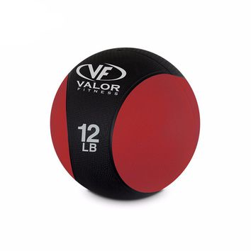 Valor Fitness RXM-12 medicine ball, 12-Pound
