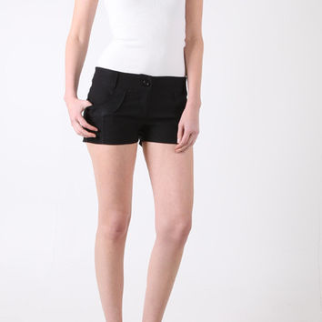 Womens Color Swatch flap back pocket shorts Young Adults