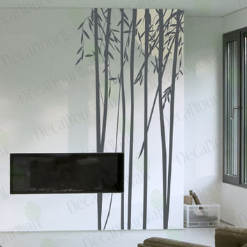 """94"""" tall Large Bamboo Tree Removable Vinyl Wall Decals Wall Art Sticker Home Decor"""