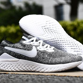HCXX 19Aug 552 Nike Epic React Flyknit 2 Mesh Sneaker Breathable Casual Running Shoes
