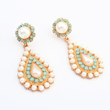 Elegant Water Droplets Earrings