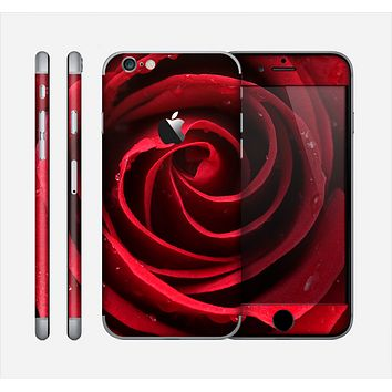 The Layered Red Rose Skin for the Apple iPhone 6