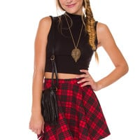 Everlasting Plaid Skirt