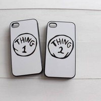 Thing 1 and Thing 2 Best Friend Cases - Grace Elizabeth Collection