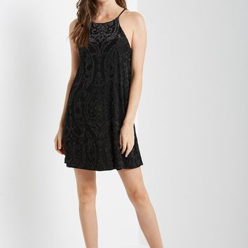 Black Merry Swing Dress
