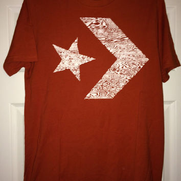Sale!! Vintage CONVERSE All Star Casual T Shirt Cotton Tee