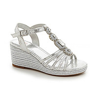 GB Girls Precious-Grl Jeweled Wedge Sandals