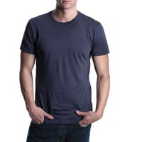 LOSANGELIST ? ANOTHER BASIC / SHORT SLEEVE CREW NECK Plain...