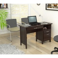 Inval Softform Espresso Computer Desk | Overstock.com Shopping - The Best Deals on Desks