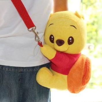 "DISNEY CROSSBODY WINNIE THE POOH MINI BAG 9.5"" LIMITED EDITION."
