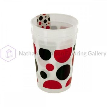 Little Ladybug Polka Dot Plastic Cups Set PB693