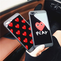 Iphone 6/6s Stylish Cute Hot Deal On Sale Apple Korean Iphone Soft Couple Phone Case [10793502919]