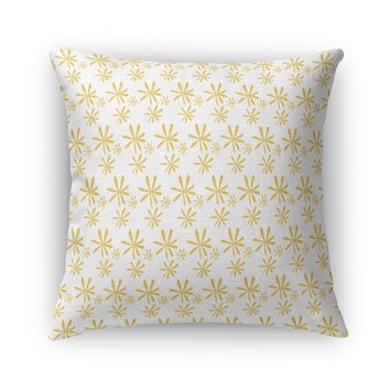 HAPPY FLOWER Accent Pillow By Heidi Miller