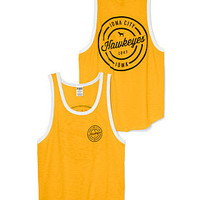 University of Iowa Ringer Tank - PINK - Victoria's Secret