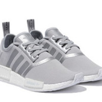 NEW Adidas NMD R1 Women's Reflective Matte Silver S76004