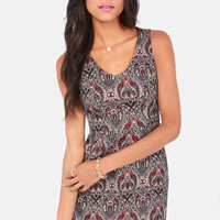 BB Dakota by Jack Joella Jacquard Dress