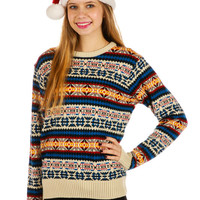 Fair in Fair Isle Ugly Christmas Sweater