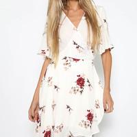 Grand Gesture Dress - White Floral