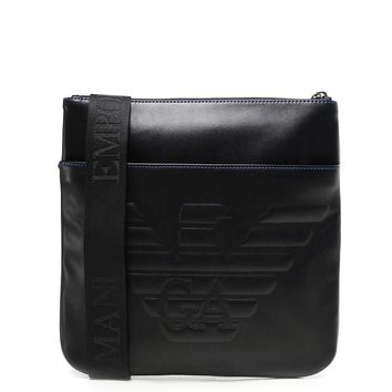 Emporio Armani Messenger Bag with Front Pocket