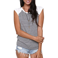 Nollie Sleeveless Raglan Tee at PacSun.com
