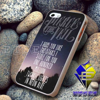Pierce The Veil Song Lyrics For iPhone Case Samsung Galaxy Case Ipad Case Ipod Case