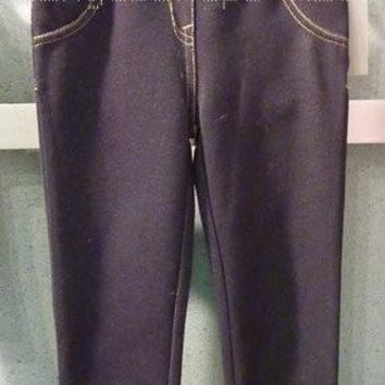 Deux Par Deux Must Have Anthracite Black Jeggings (sz 24m-10)