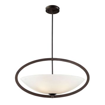 Dione 5-Light Pendant In Aged Bronze