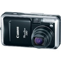 Canon Powershot S80 8MP Digital Camera with 3.6x Wide Angle Optical Zoom