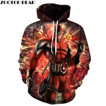 Deadpool Dead pool Taco  Hoodies Funny 3D Hoodie Movie Tracksuits Men Women Sweatshirts Brand Hooded Pullover Fashion Casual Streetwear AT_70_6
