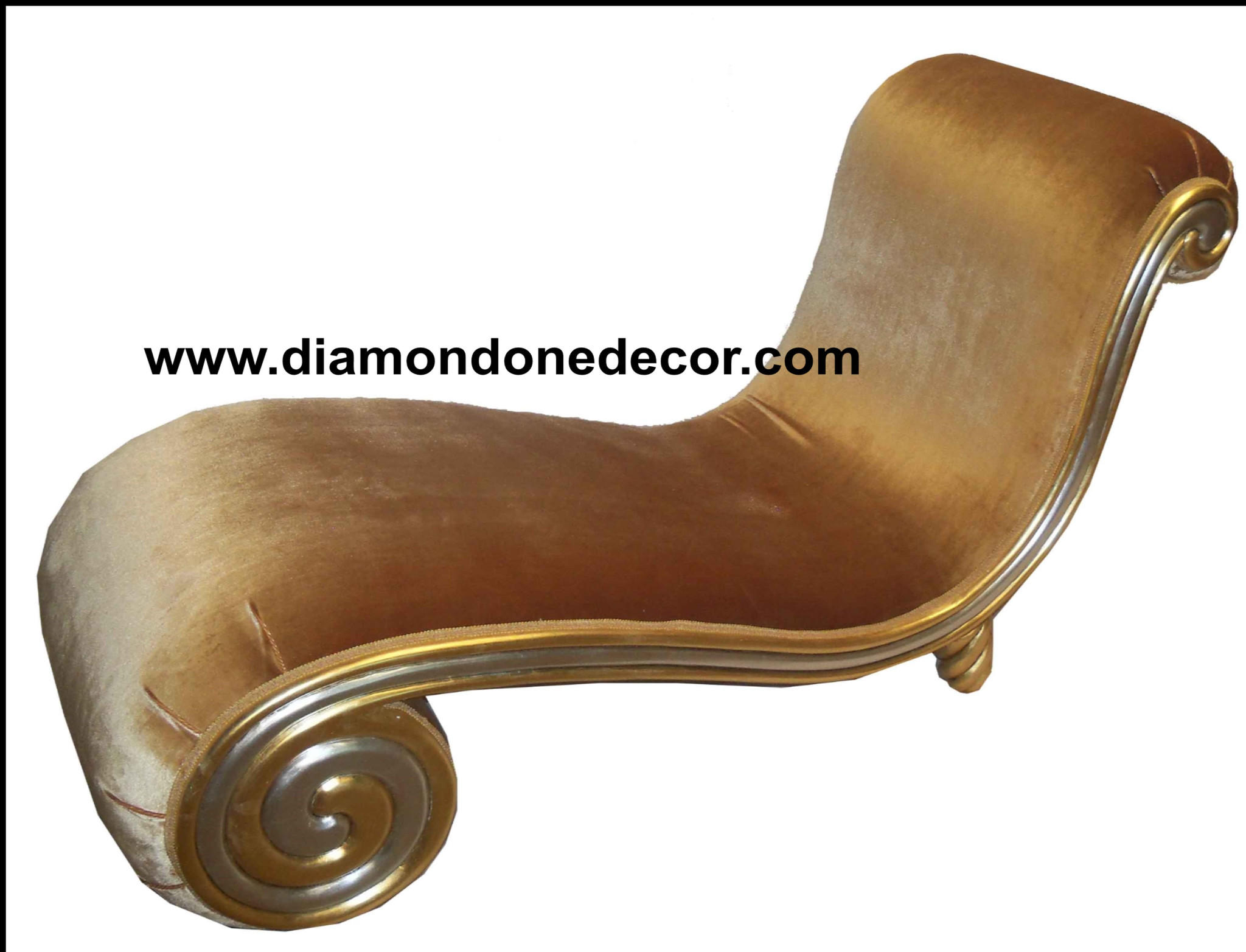 Extraordinary cleopatra snail chaise from for Chaise cleopatra