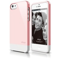 iPhone SE case, elago [Glide][Lovely Pink / White] - [Mix and Match][Premium Armor][True Fit] - for iPhone SE/5/5S