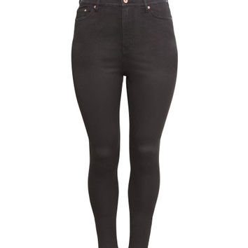 H&M+ Skinny High Jeans - from H&M