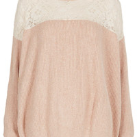 **Jumper by Navy - Knitwear - Clothing - Topshop USA