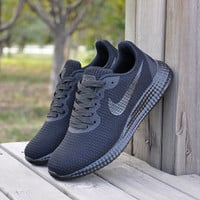"""NIKE"" Stylish Casual On Sale Comfort Hot Sale Permeable Jogging Shoes Autumn Knit Sneakers [9263711751]"