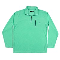 FieldTec Dune Pullover in Bimini Green by Southern Marsh