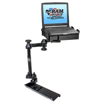 RAM Mount No Drill Laptop Mount f-Chevrolet Colorado & GMC Canyon Crew Cab [RAM-VB-116A-SW1]