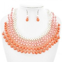 Peachy Necklace