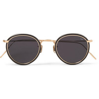 Eyevan 7285 - Round-Frame Acetate and Metal Sunglasses | MR PORTER