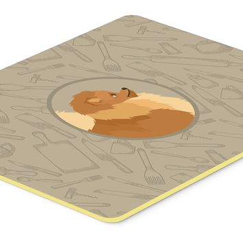Pomeranian In the Kitchen Kitchen or Bath Mat 24x36 CK2202JCMT