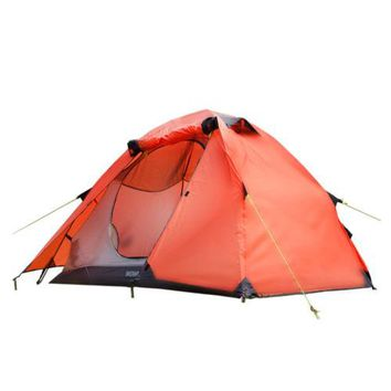 Rainproof Camping Tent Double Layer Tent for 2 Persons