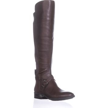 Vince Camuto Paton Wide Calf Fashion Boots, Sherwood Bark, 7.5 US, Sherwood Bark, 7.5 US